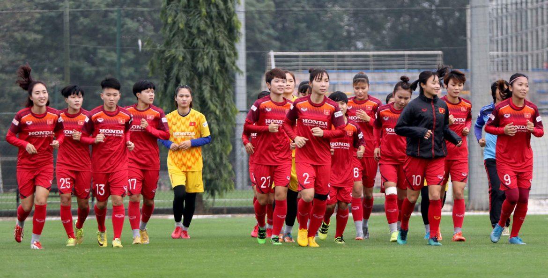 Đội tuyển bóng đá nữ Việt Nam bắt đầu tập luyện cho mùa giải mới