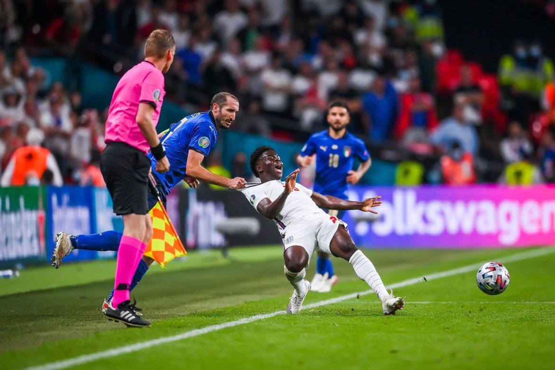 Hình xăm của CĐV Italy ghi lại khoẳng khắc trong trận chung kết