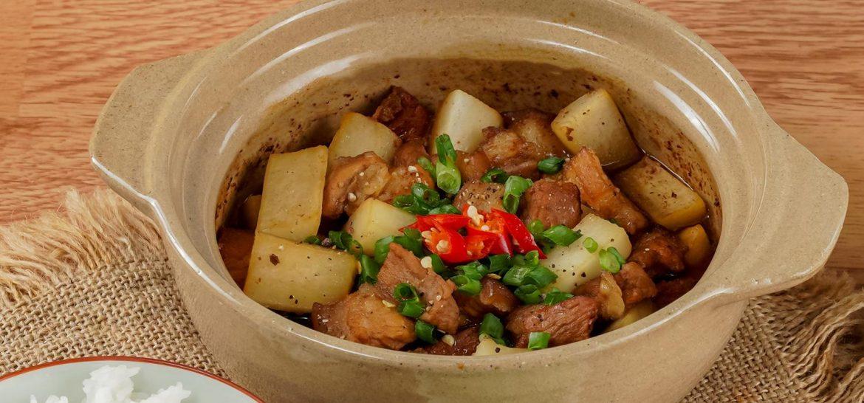 Hướng dẫn cách làm món thịt kho củ cải bổ dưỡng