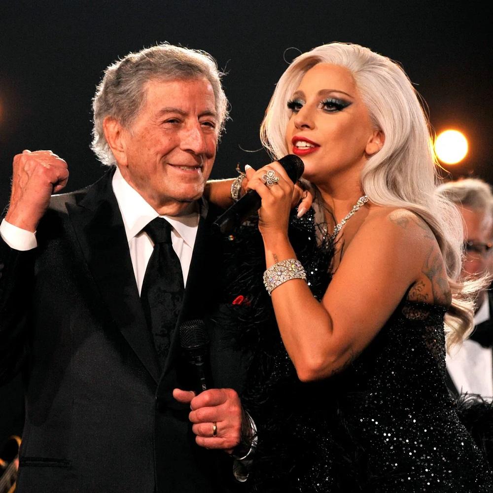 """Huyền thoại Tony Bennett kết hợp cùng danh ca Lady Gaga trước khi """"ở ẩn"""""""