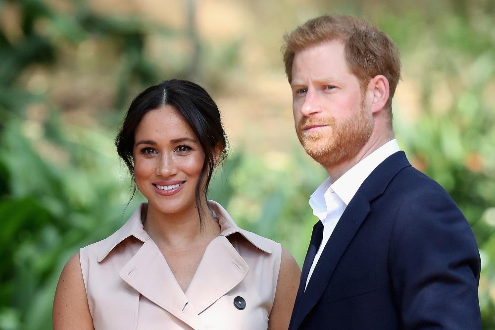 Vợ chồng Hoàng tử Harry và Meghan Markle