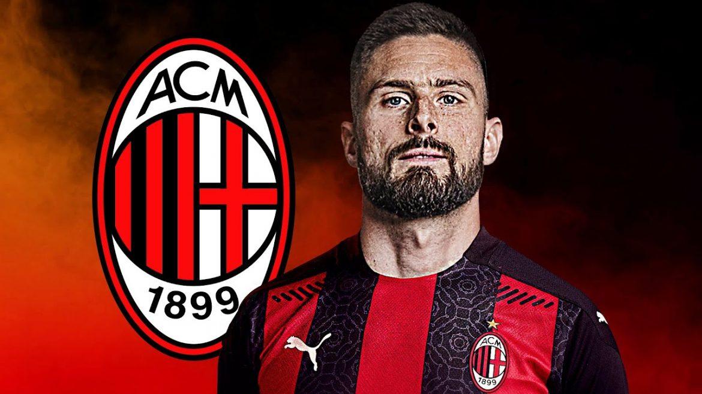 Milan chỉ tốn 2,4 triệu USD để mua tiền đạo Olivier Giroud từ Chelsea