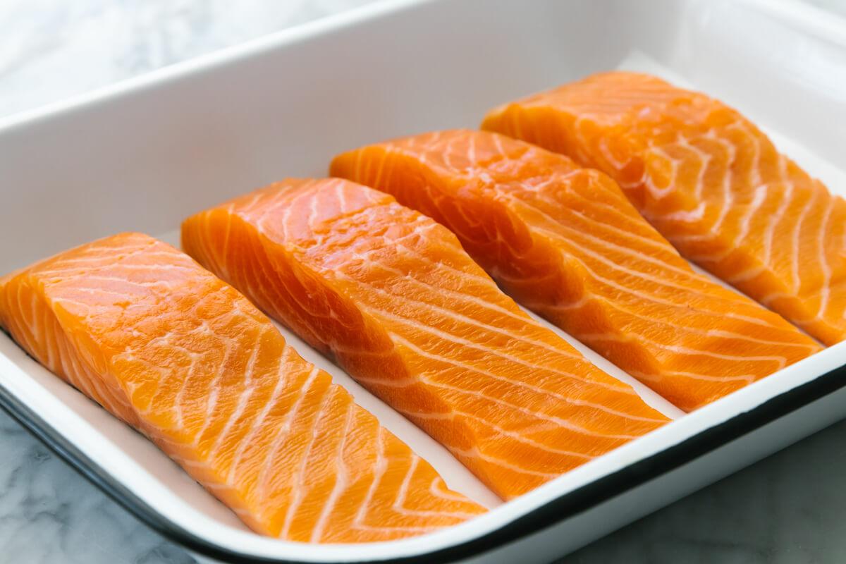 dinh dưỡng từ cá hồi