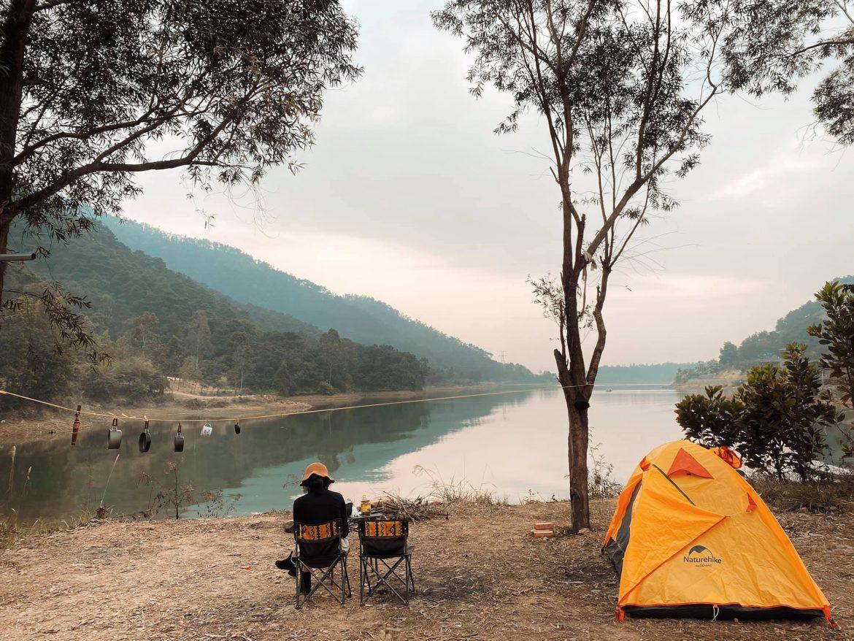 Những địa điểm thích hợp để cắm trại cho ngày nghỉ ngắn