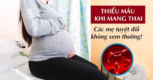 Thực phẩm nào là giải pháp cho tình trạng thiếu máu của mẹ bầu?